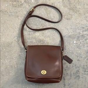 Vintage Coach legacy companion flap bag